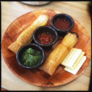 Apt. A tamales. Photo by Vanessa Wolf