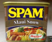 Experimental Spam Flavors in Limited Maui Release (Maui Now)