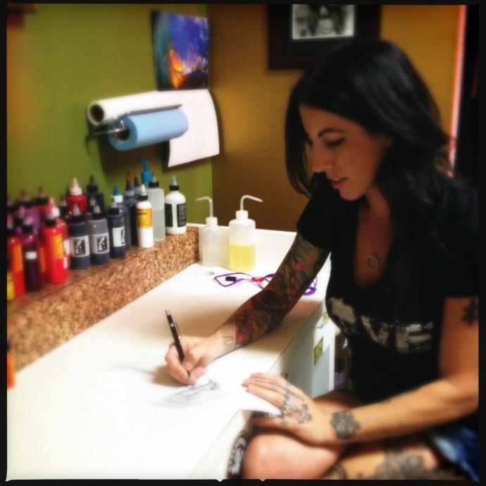 Maui Artist Profile: Tattoo Artist Rachel Helmich (MauiNow.com)